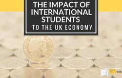 Medium impact of international students to uk economy