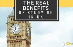 Medium real benefits studying in uk