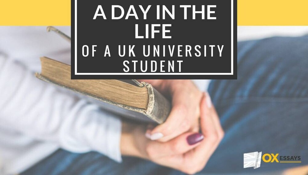 Content day in life of uk student