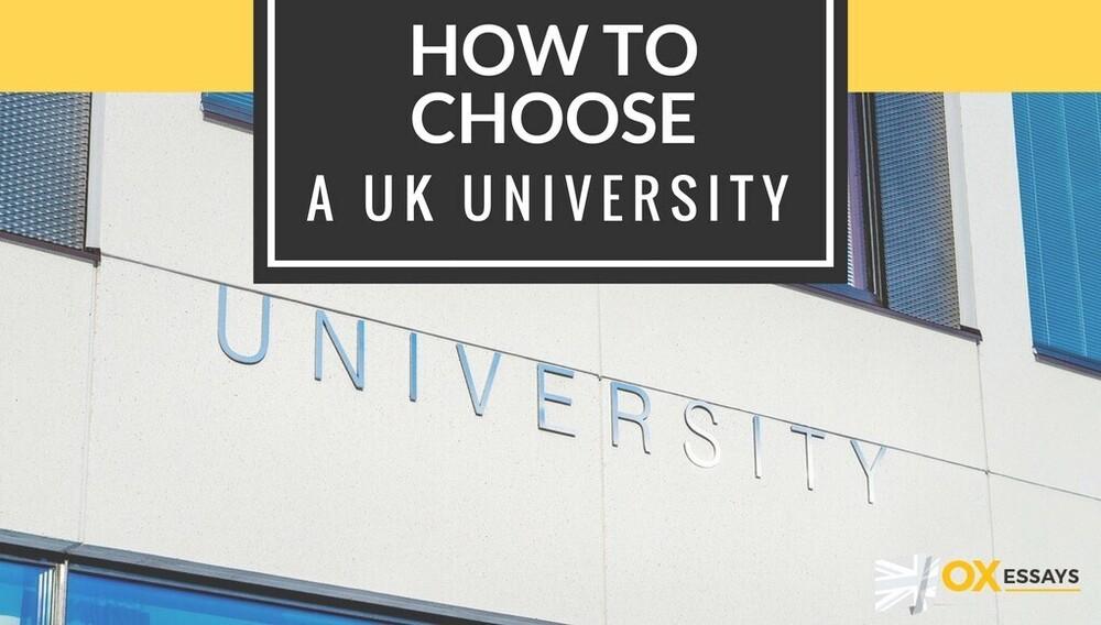 Content how choose uk university